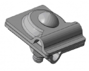 Зажим универсальный Adapt, Adapt D8-10 Zn оцынкованный, прут-прут
