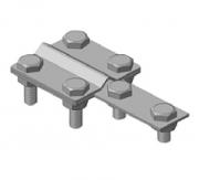 Контрольный зажим K, K4/Zn оцынкованный