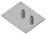 Металлическое основание под молниеприемник D16 MTMOL