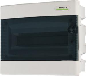 Щиток встраиваемый PNF 8T, с прозрачной дверцей 8mod(1x8), IP40