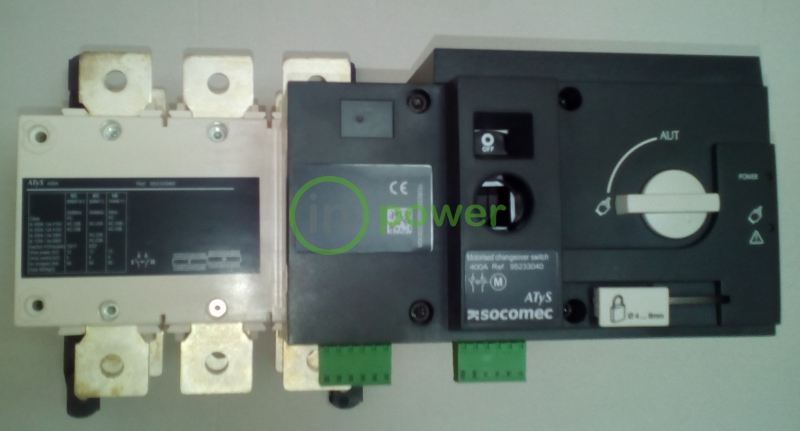 Переключатель нагрузки с мотор приводом ATyS r 630A 3p  230V AC