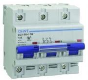 Автоматический выключатель DZ158-125 6kA 3P 125A C