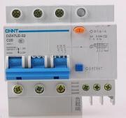 Дифференциальный автомат DZ47LE-32 3P+N C32A 30mA AC