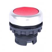 Кнопка плоская красная с самовозвратом Ex9P1 F r