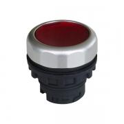 Кнопка плоская красная с самовозвратом и подсветкой Ex9P1 FI r