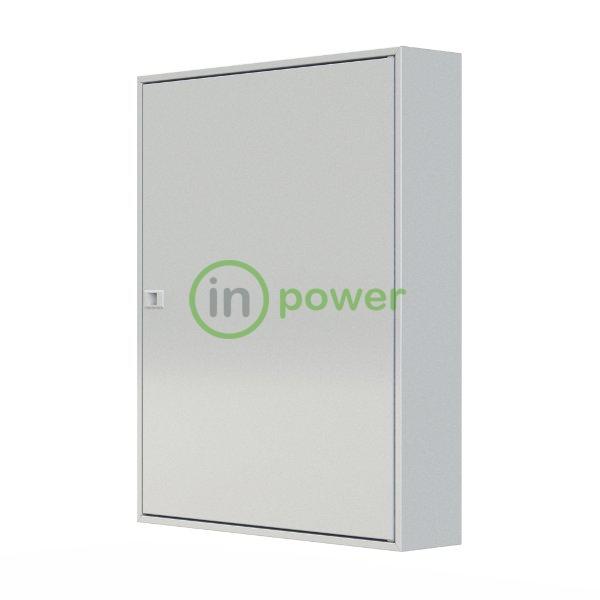 Щиток настенный MFS5 165W, дверь сплошная 165mod (5x33), IP40