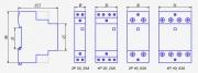 Модульный контактор NCH8-63/11 24В AC 1NO+1NC