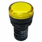 Индикатор жёлтый NP16-22DS/2 230В AC