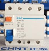 Дифференциальный выключатель NLE1-63 6kA 4P 63A 30mA AC
