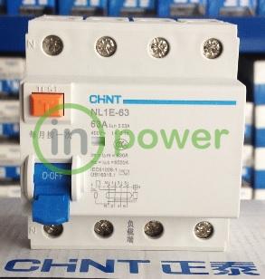 Дифференциальный выключатель NLE1-63 6kA 4P 40A 30mA AC
