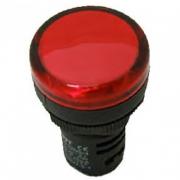 Индикатор красный NP16-22DS/2 230В AC