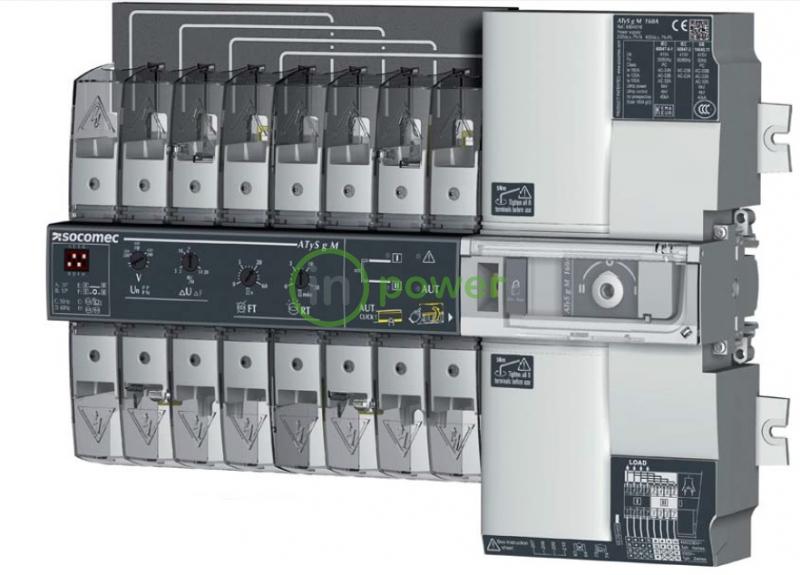 Модульный переключатель нагрузки ATyS g M 80А